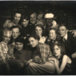 Künstlergruppe Gauklerfest | Maria Burgdorf (u. re.), Friedrich Busack (Mi. re.), Mi Busack (ob. Mi.)