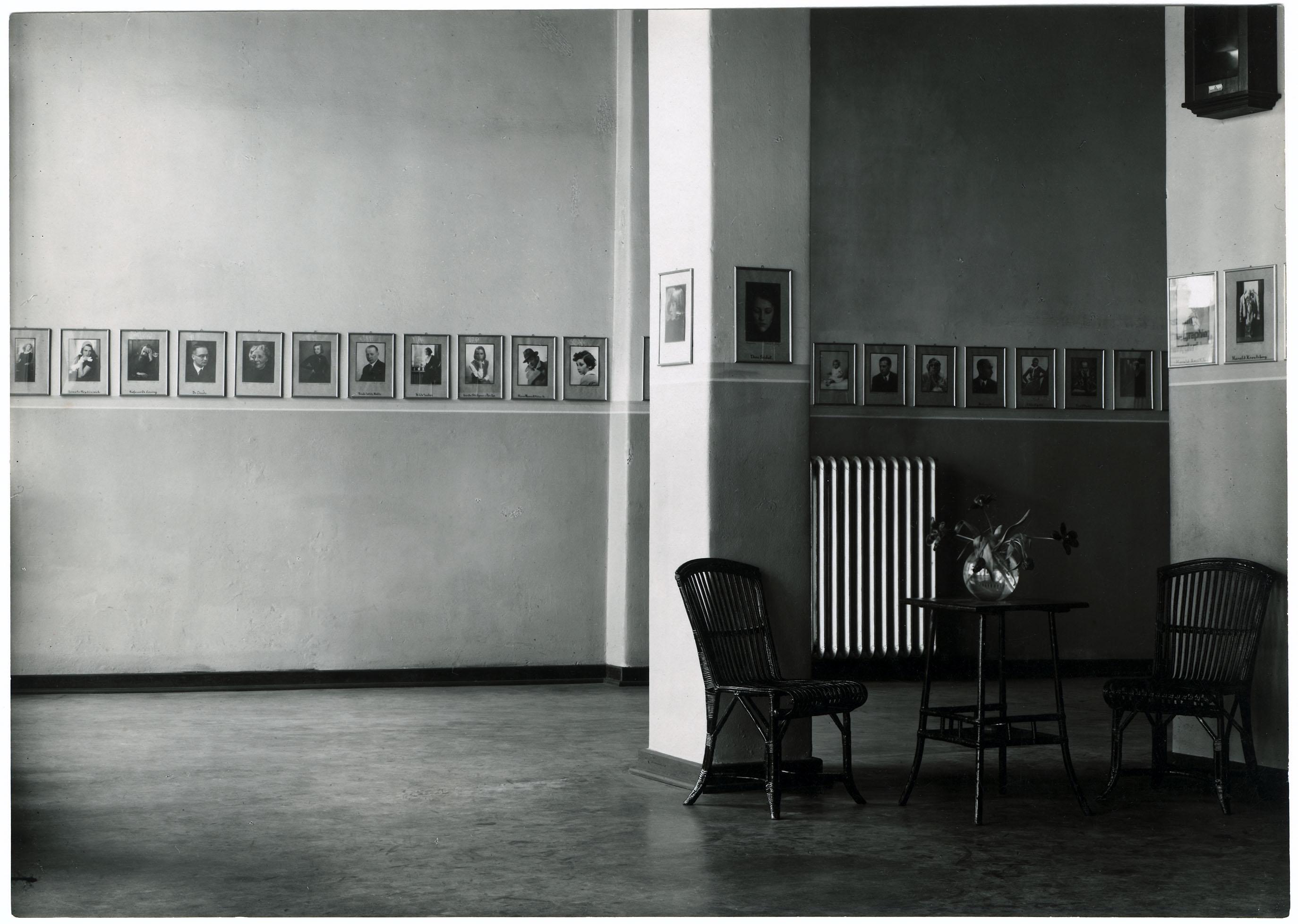 Fotoatelier Will Burgdorf | Innenansicht | Hannover 1929