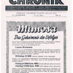 Photographische Chronik | Seite 1