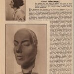 Die Frau, Illustrierte Wochenbeilage des Hannoverschen Kuriers, 1929 # 4 - Hannoversche Künstlerinnen- Else Fraenkel