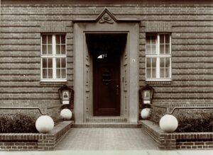 Fotoatelier Will Burgdorf | Aussenansicht Harnischstrasse 6 | Hannover 1927