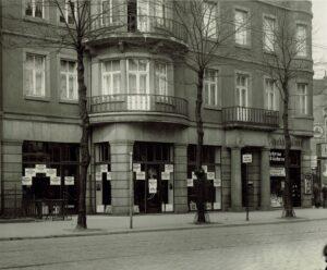 Fotoatelier Will Burgdorf | Aussenansicht Lister Platz 3 | Hannover 1931