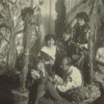 Urwaldfest 19.03.1927 | Maria + Will, Dr. Spiegelberg + Elis Spiegelberg, Frau Ehlers